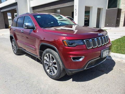 Jeep Grand Cherokee Limited Lujo 3.6L 4x2 usado (2018) color Rojo precio $579,000