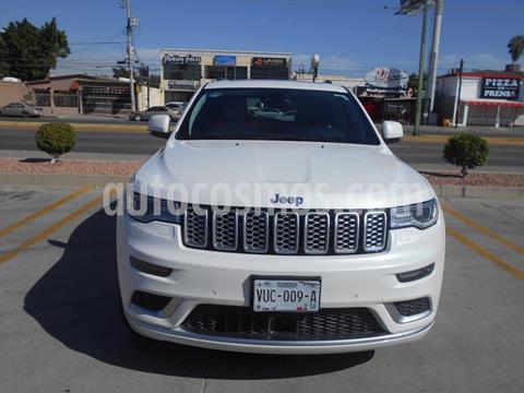 Jeep Grand Cherokee Summit Elite Platinum 5.7L 4x4 usado (2017) color Blanco precio $620,000