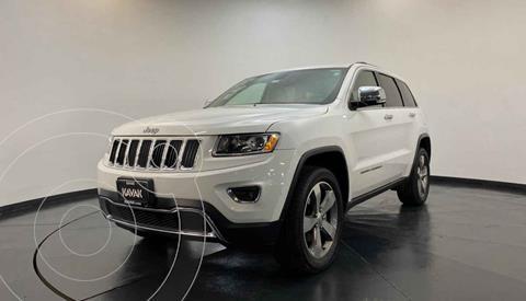 Jeep Grand Cherokee Limited Navegacion 4x2 3.6L V6 usado (2015) color Blanco precio $369,999
