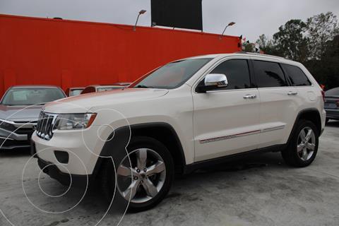 Jeep Grand Cherokee OVERLAND V8 HEMI 4X4 PAQ TECNOLOGIA usado (2012) color Blanco precio $299,990