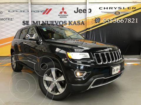 Jeep Grand Cherokee Limited Lujo 3.6L 4x2 usado (2015) color Negro precio $380,000