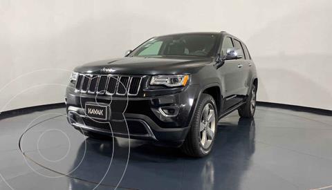 Jeep Grand Cherokee Limited Lujo 5.7L 4x4 usado (2016) color Negro precio $479,999