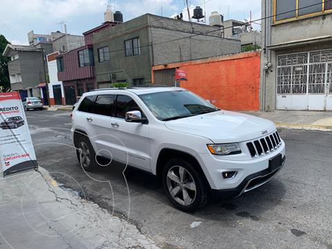 Jeep Grand Cherokee Limited Lujo 3.6L 4x2 usado (2015) color Blanco precio $360,000