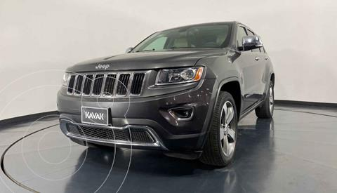 Jeep Grand Cherokee Limited 4x2 3.6L V6 usado (2014) color Gris precio $342,999