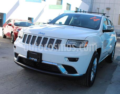 Jeep Grand Cherokee Summit 5.7L 4x4 usado (2014) color Blanco precio $399,000