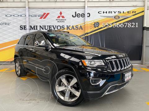 Jeep Grand Cherokee Limited Lujo 3.6L 4x2 usado (2015) color Negro precio $450,000