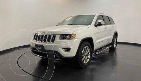 Jeep Grand Cherokee Limited 4x2 3.6L V6 usado (2014) color Blanco precio $317,999