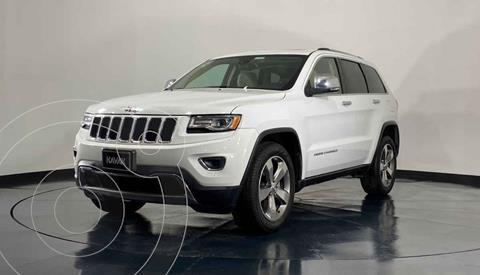 Jeep Grand Cherokee Limited Lujo 3.6L 4x2 usado (2016) color Blanco precio $447,999