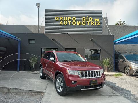 Jeep Grand Cherokee Overland 5.7L V8 4x4 usado (2012) color Rojo precio $289,000
