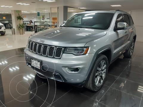 Jeep Grand Cherokee Limited Lujo 3.6L 4x2 usado (2018) color Plata Dorado precio $610,000