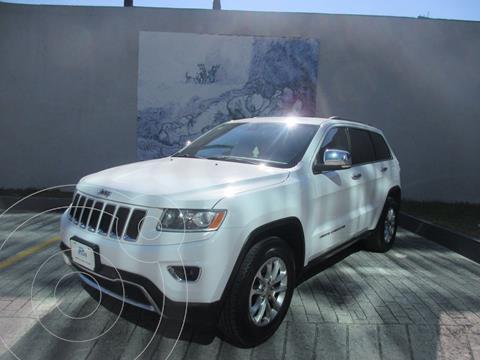Jeep Grand Cherokee Limited 4x2 3.6L V6 usado (2014) color Blanco precio $335,000