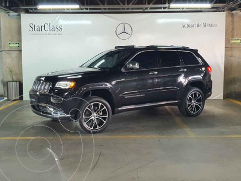 Jeep Grand Cherokee Summit 5.7L 4x4 usado (2015) color Negro precio $459,000