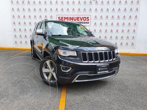 Jeep Grand Cherokee Limited Lujo 3.6L 4x2 usado (2015) color Negro precio $345,000