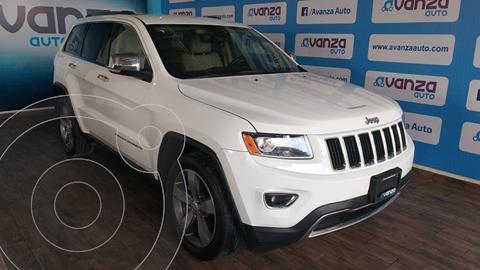 Jeep Grand Cherokee Limited 4x2 3.6L V6 usado (2015) color Blanco precio $380,000