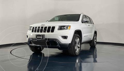 Jeep Grand Cherokee Limited Navegacion 4x2 3.6L V6  usado (2015) color Blanco precio $384,999