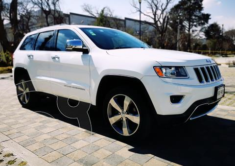 Jeep Grand Cherokee Limited Navegacion 4x2 3.6L V6  usado (2014) color Blanco precio $309,000