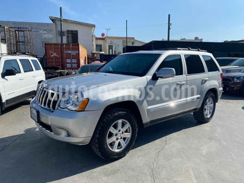 Jeep Grand Cherokee Limited 4X2 4.7L V8 usado (2009) color Plata precio $409,800