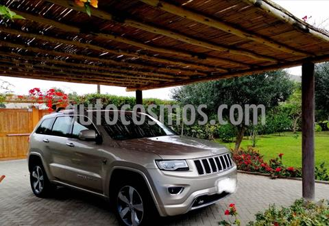 Jeep Grand Cherokee 3.6L Overland 4x4  usado (2014) color Marron precio u$s28,800