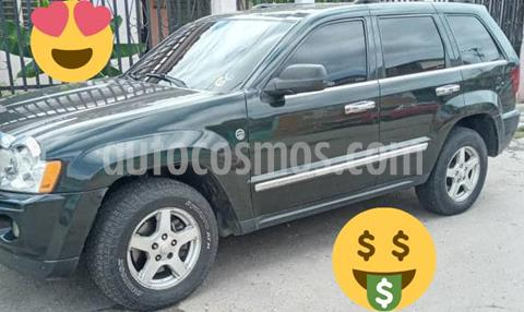 Jeep Grand Cherokee Limited 4.7L Aut 4x4 usado (2007) color Verde precio u$s3.800