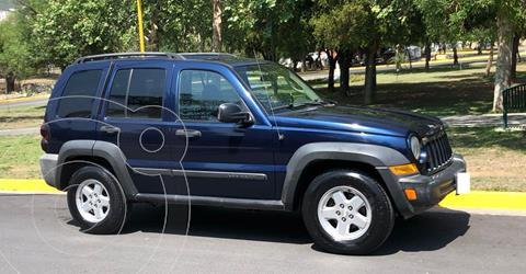 Jeep Liberty Limited 4X2 usado (2006) color Azul precio $99,000