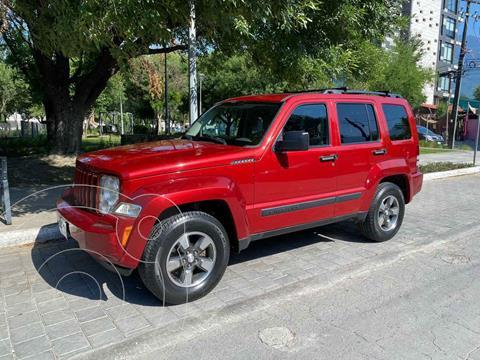 Jeep Liberty Sport 4x2 usado (2008) color Vino Tinto precio $179,900