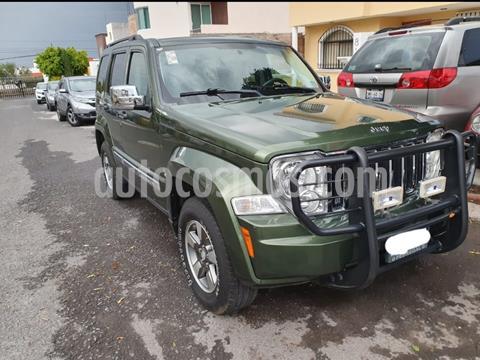 Jeep Liberty Limited 4x2 usado (2008) color Verde precio $155,000
