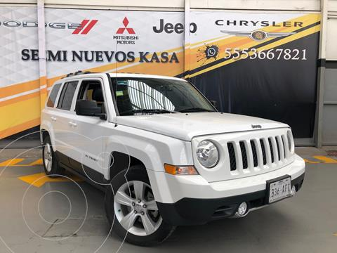 Jeep Patriot 4x4 Limited CVT usado (2015) color Blanco precio $230,000