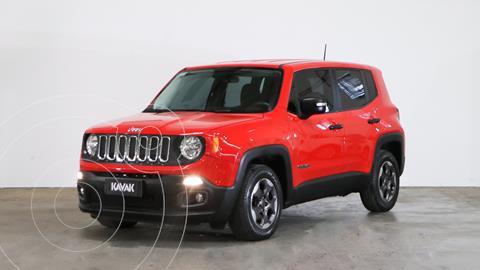 foto Jeep Renegade Sport usado (2017) color Rojo precio $2.490.000