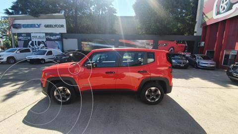 Jeep Renegade Sport usado (2018) color Rojo precio $1.815.000