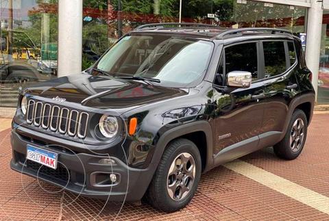 Jeep Renegade Sport Aut Plus usado (2017) color Negro financiado en cuotas(anticipo $2.100.000)