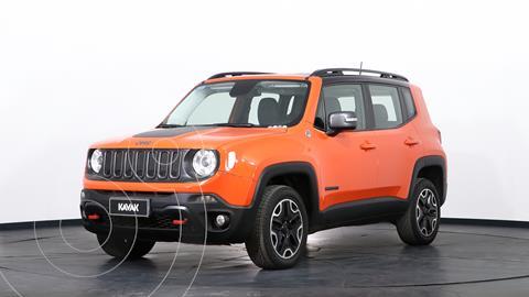 Jeep Renegade Trailhawk 4x4 Aut usado (2018) color Naranja precio $4.455.000