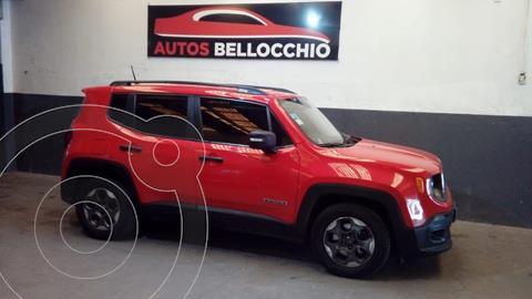 Jeep Renegade Sport usado (2016) color Rojo precio $2.450.000