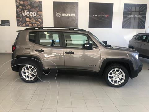 Jeep Renegade Sport Aut nuevo color Gris financiado en cuotas(anticipo $990.000 cuotas desde $28.943)