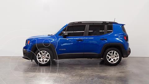 Jeep Renegade Sport usado (2018) color Azul precio $2.410.000