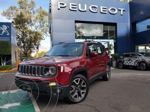 Jeep Renegade 4x2 Latitude Aut usado (2019) color Vino Tinto precio $368,900