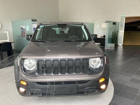Jeep Renegade Sport  usado (2019) color Gris precio $315,000