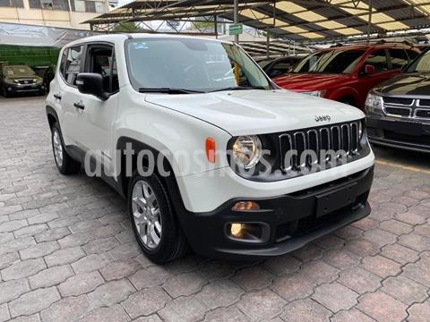 Jeep Renegade 4x2 Sport Aut usado (2018) color Blanco precio $260,000