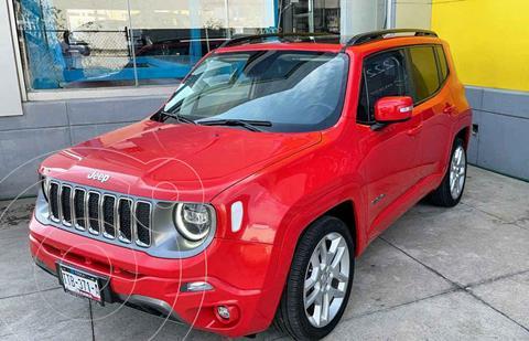 Jeep Renegade 4x2 Limited Aut usado (2019) color Rojo precio $387,000