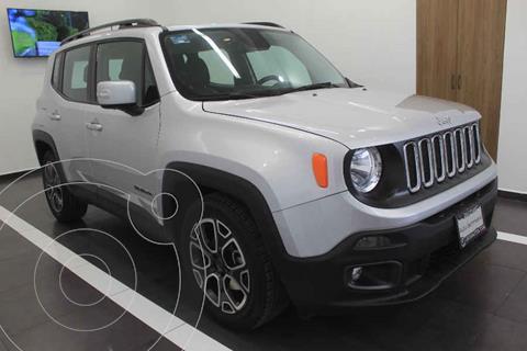 Jeep Renegade 4x2 Latitude Aut usado (2018) color Plata precio $329,000