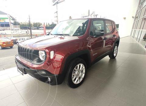 Jeep Renegade 4x2 Sport Aut usado (2020) color Rojo precio $365,000
