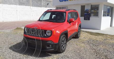 Jeep Renegade 4x2 Latitude Aut usado (2018) color Rojo precio $249,900