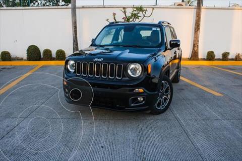 Jeep Renegade LATITUD 1.8L 4L 130HP AT usado (2017) color Negro precio $315,000