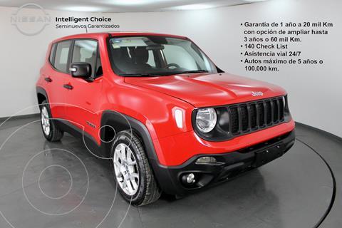 Jeep Renegade Sport  usado (2019) color Rojo precio $350,000