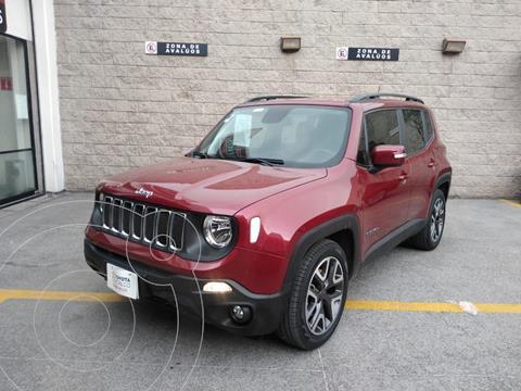 Jeep Renegade Latitude  usado (2019) color Rojo precio $380,000