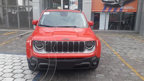 Jeep Renegade Limited   usado (2021) color Rojo precio $489,900