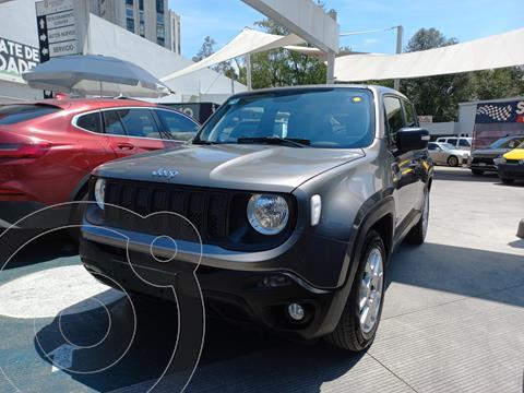 Jeep Renegade Sport  usado (2019) color Gris Ceniza precio $363,000