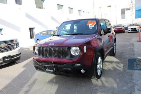 Jeep Renegade Sport  usado (2019) color Marron precio $349,000