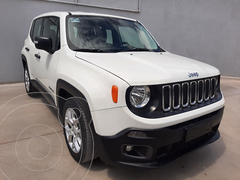 Jeep Renegade Sport  usado (2018) color Blanco precio $338,000