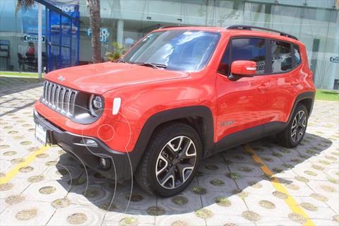Jeep Renegade LATITUDE 1.8L 6AT usado (2020) color Rojo precio $420,000