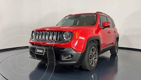 Jeep Renegade 4x2 Latitude Aut usado (2018) color Rojo precio $349,999